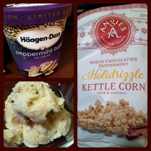 Ice cream and popcorn = two of my favorite treats!