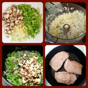 Pork and Crice Ingredients
